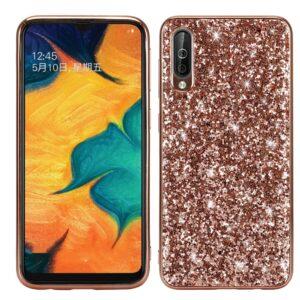 Samsung Galaxy A50 / A50s / A30s - Glitter Hybrid cover - Rosa guld