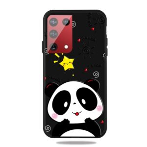 Samsung Galaxy S21 Ultra - Gummi cover med printet Design - Panda