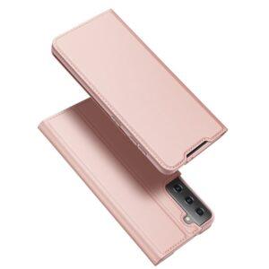 Samsung Galaxy S30 Plus / S21 Plus - DUX DUCIS Skin Pro læder cover - Rosa