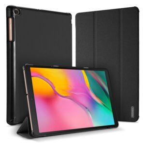 Samsung Galaxy Tab A 10.1 (2019) - DUX DUCIS Domo Series Tri-Fold cover - Sort