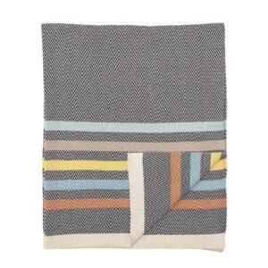Bloomingville tæppe med striber