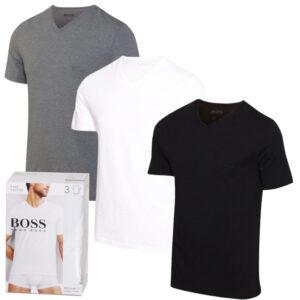 Hugo Boss 3-Pack V-Neck T-shirts - S