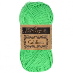 Scheepjes Cahlista Garn Unicolor 389 Apple Green