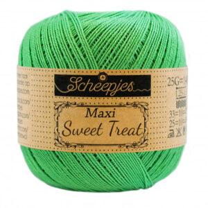 Scheepjes Maxi Sweet Treat Garn Unicolor 389 Apple Green
