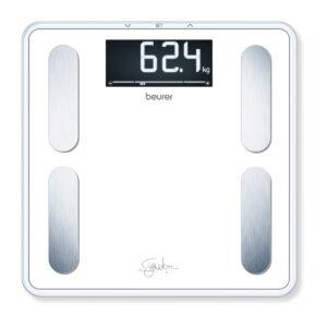Beurer Signature BF400 Kropsanalysevægt i Hvid Glas