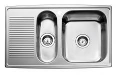 Juvel Intra horizon køkkenvask 815x510mm med strainer. HZD815SH