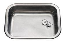 Juvel køkkenvask 480x340mm med prop, K480