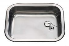 Juvel køkkenvask barents 480x340mm med prop, blank A480