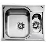 Juvel universal køkkenvask 580x500mm med strainer. UNI150