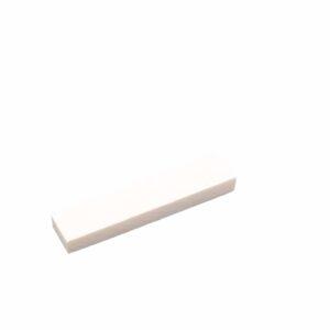 Santana White Bone Blank 56 sadel til guitar, 56 x 12 x 6,5 mm.