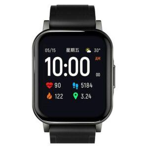Haylou LS02 Smartwatch, Sort