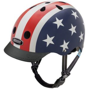 Nutcase Little Nutty Stars And Stripes - Cykelhjelm