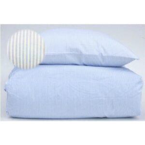 Sengetøj, lyseblå/hvid - bySKAGEN