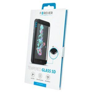 Forever 5D iPhone 12/12 Pro Skærmbeskyttelse, Sort Kant
