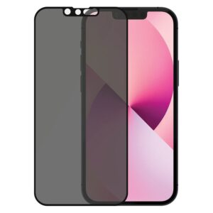 PanzerGlass iPhone 13 Mini Privacy AntiBacterial Skærmbeskyttelse, Sort
