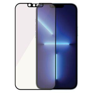 PanzerGlass iPhone 13 Pro Max Anti-Bluelight Skærmbeskyttelse, Sort Kant