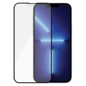 PanzerGlass iPhone 13 Pro Max Anti-Glare Skærmbeskyttelse, Sort Kant