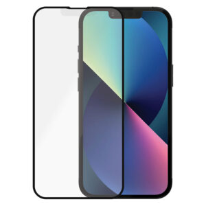 PanzerGlass iPhone 13/13 Pro Anti-Glare Skærmbeskyttelse, Sort Kant