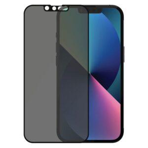 PanzerGlass iPhone 13/13 Pro Privacy AntiBacterial Skærmbeskyttelse, Sort