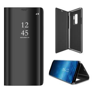 Samsung Galaxy S9 Plus - Clear View mirror læder cover - Sort